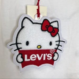 Collectible Levi's Hello Kitty Garment Hang Tag